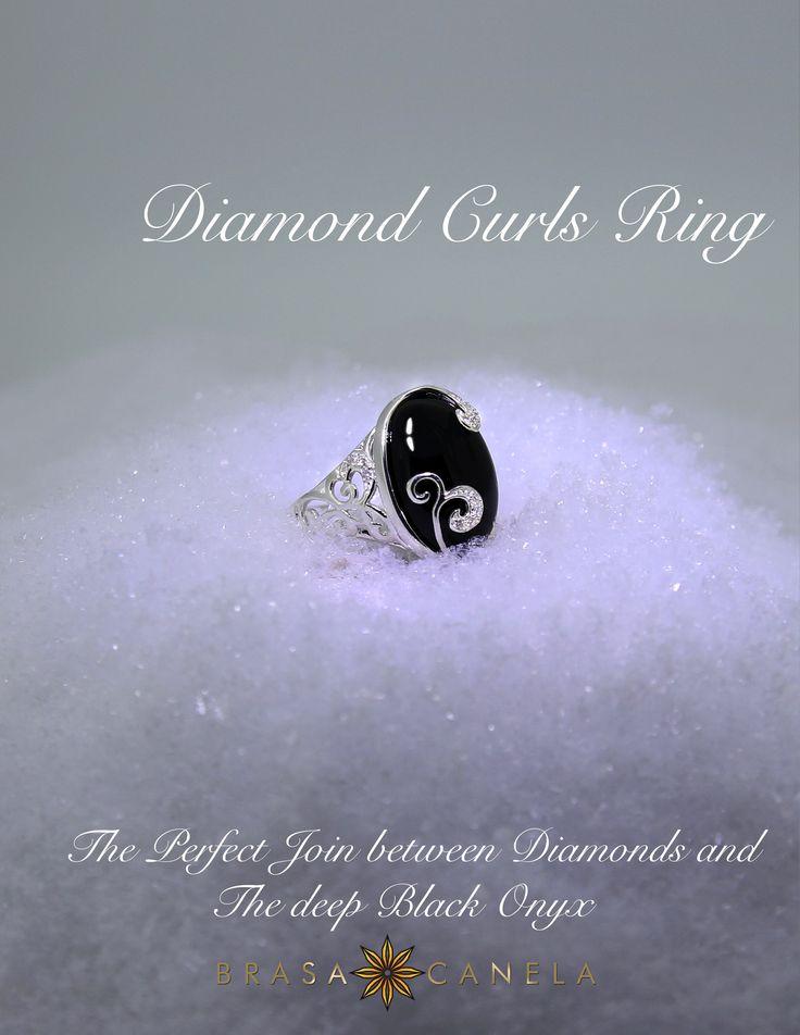 Diamonds & Onyx  #BCDecemberFavourites #BCMasterPieces #BRASACANELA