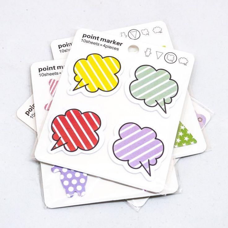 Speech Bubble Sticky Note Labels