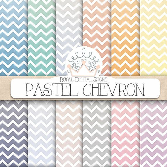 how to create a chevron pattern in word