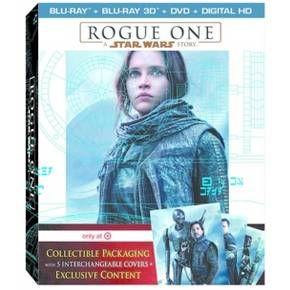 Rogue One: A Star Wars Story - Target Exclusive (Target Exclusive Bonus Disc + 3D + Blu-ray + DVD + Digital) : Target