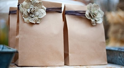 adorable dyi paper #party bags