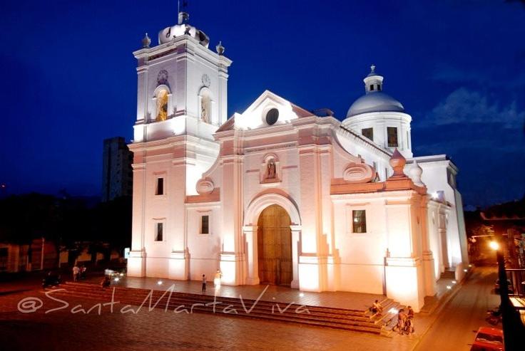 Catedral de Santa Marta, fue la primera basílica construida en América Latina (1765)