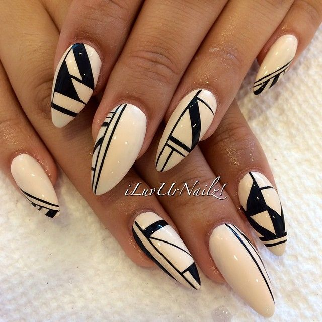 Best 25+ Abstract nail art ideas on Pinterest