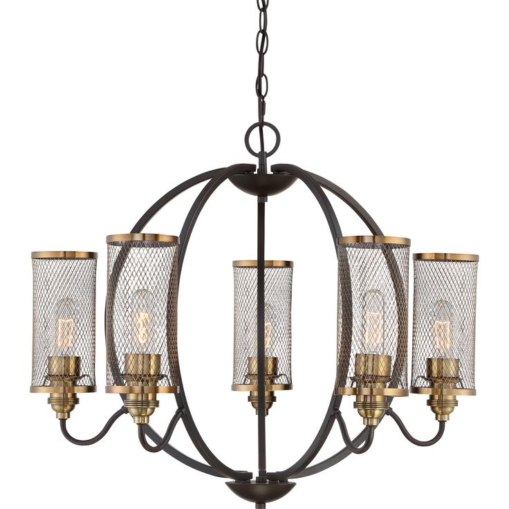 Cavalaire 6 Light Candle Chandelier