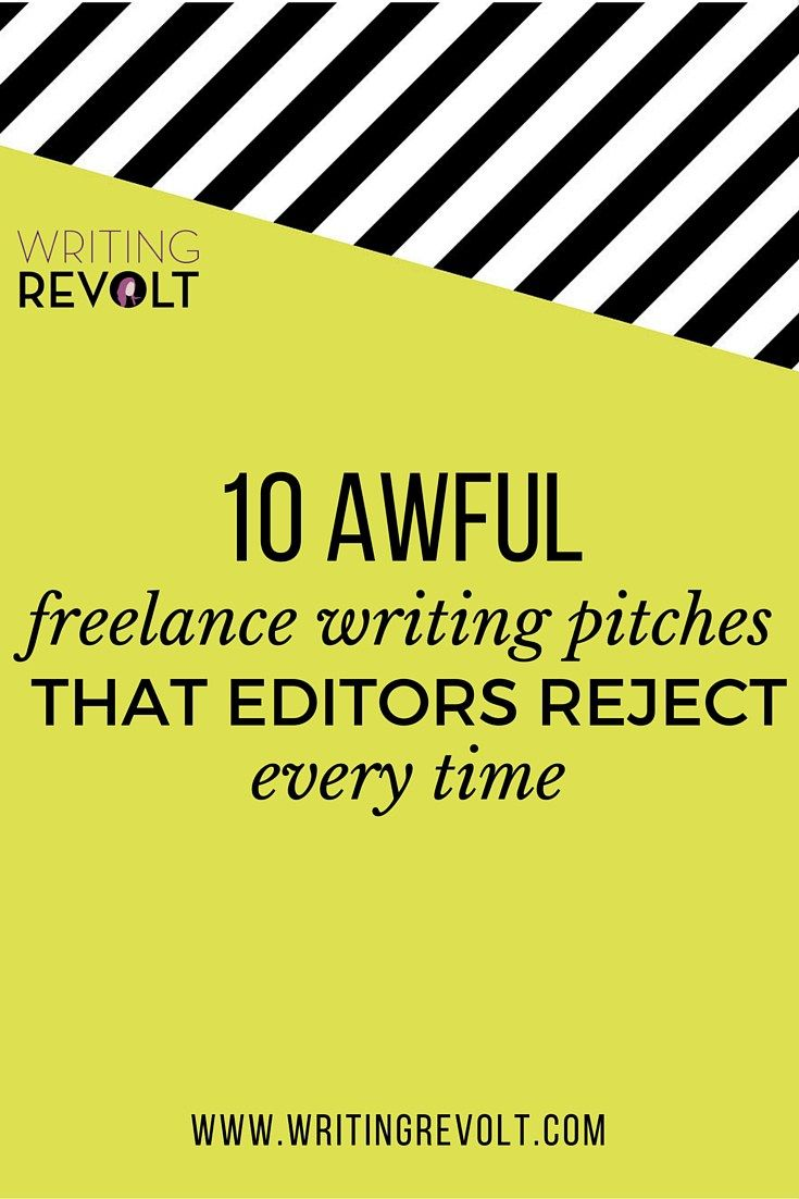 how to write a pitch