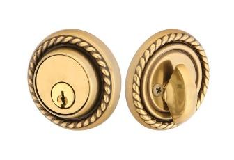 Emtek Rope Style Single Cylinder Deadbolt Lock