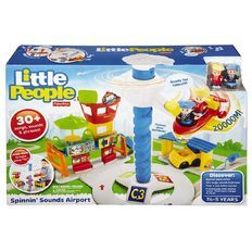 Fisher-Price Little People Spinning Sounds Airport