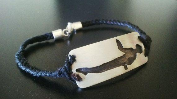 String weaved sterling silver men's bracelet. Pole move description: bed