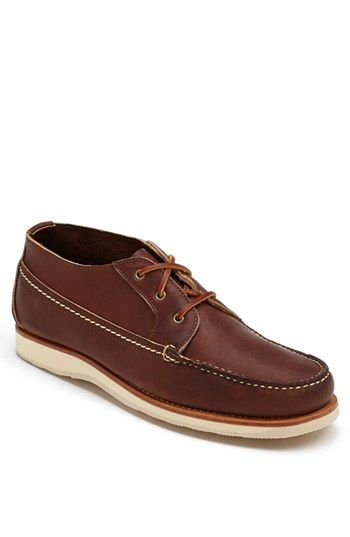 Red Wing Moc Toe Chukka Boot available at #Nordstrom $310