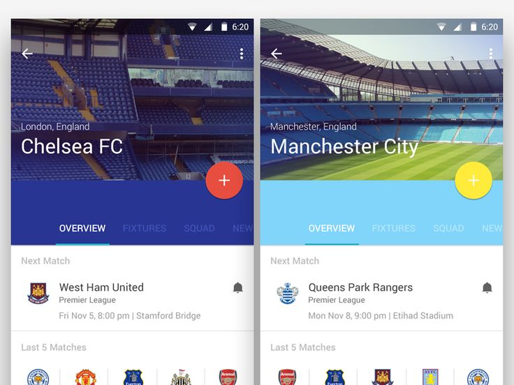 Football Material Design by Manuel Navarro Orozco