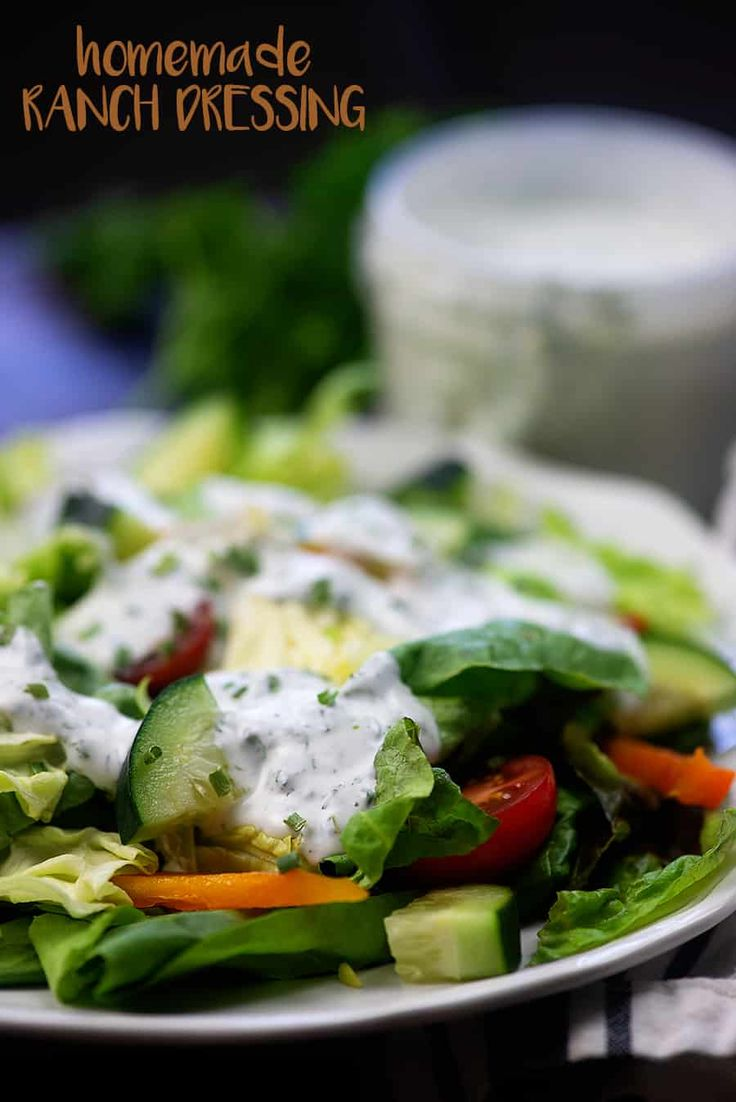 Best ever ranch dressing that low carb life low carb