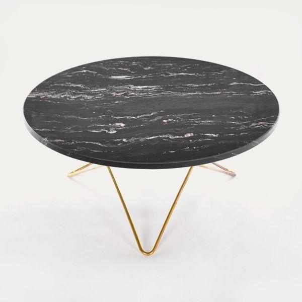 O-bord av marmor fra OX Denmarq