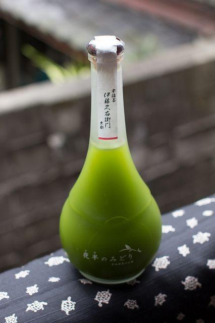 Uji Matcha Green Tea Liqueur (Kyoto, Japan
