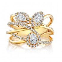 18k Yellow Gold Forevermark® Diamond Band