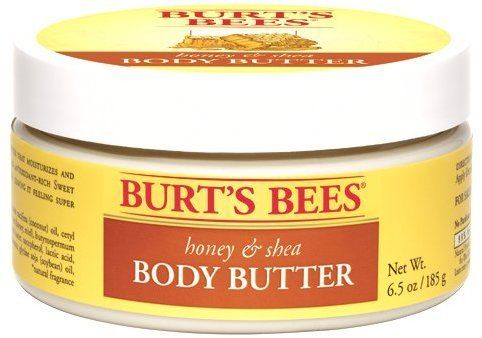 Burt's Bees Honey & Shea Body Butter contains plant-derived butters and oils to give skin a boost of healthy antioxidants while nourishing and smoothing skin....