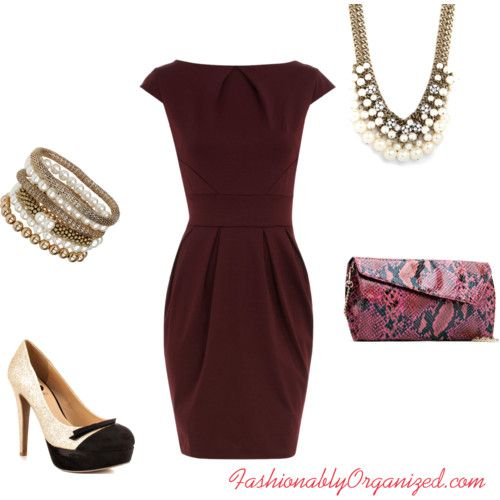 Burgundy Red Wedding Shoes