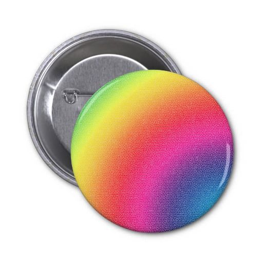Rainbow Bright Bold Gifts Buttons 4 $3.50 -- click for sales!!!!!!