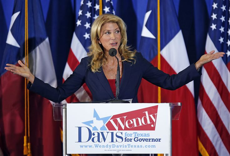 Wendy Davis's Campaign Mocks Greg Abbott for Being Paralyzed | RedState This is no woman, she has no compassion for those who have served.