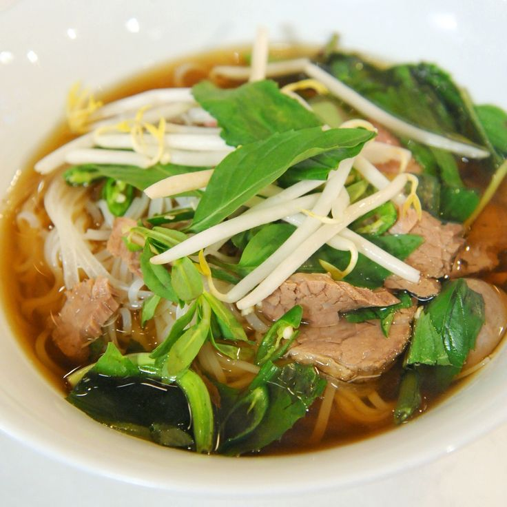 TV chef Thomas Joseph traveled to Vietnam to study pho, the country's traditional noodle soup; he came back with this authentic recipe. Martha made this recipe on Cooking School episode 304.