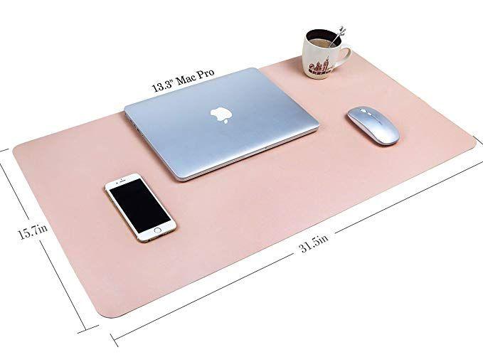 Amazon Com Office Desk Pad 31 5 X 15 7 Ysagi Ultra Thin Waterproof Pu Leather Mouse Pad Dual Use Desk Writing Ma Leather Mouse Pad Leather Mouse Desk Pad