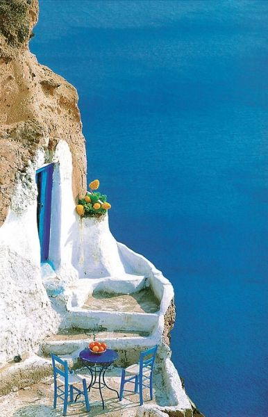 "greek-highlights: "" Santorini island…Greece by George Meis """