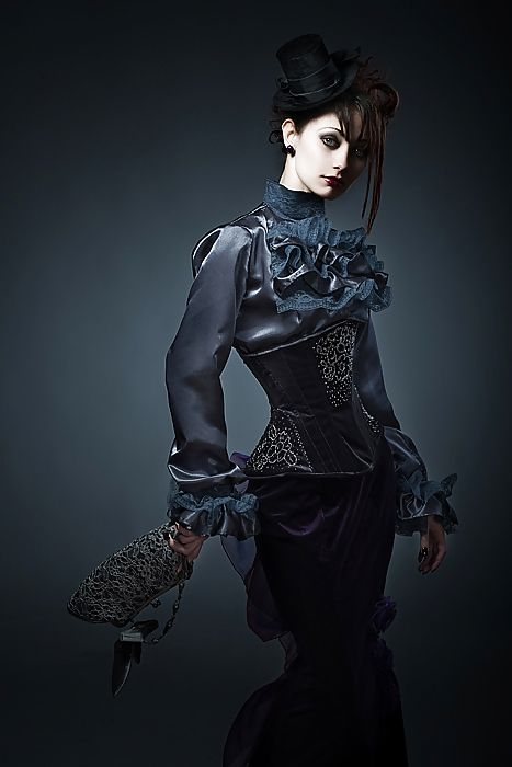 Neo Victorian Goth Girl K Find This Pin And More On Inspiration