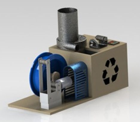 how to build a filament recycler