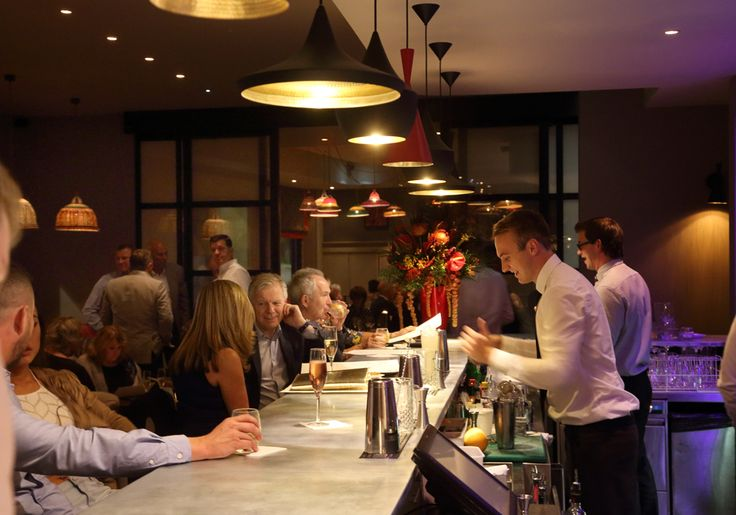 Classic Modern Bistro | 21 interior design by Ward Robinson | Newcastle upon Tyne | Bar Design | Bar Area