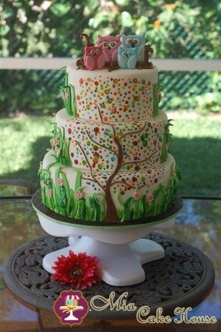Family tree cake  Cake by MiaCakeHouse