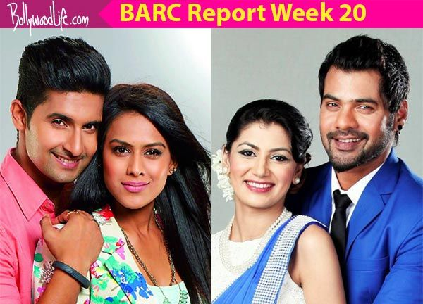 BARC Report Week 20: Sriti Jha's Kumkum Bhagya continues to rule the overall charts while Nia Sharma's Jamai Raja tops in the… #FansnStars
