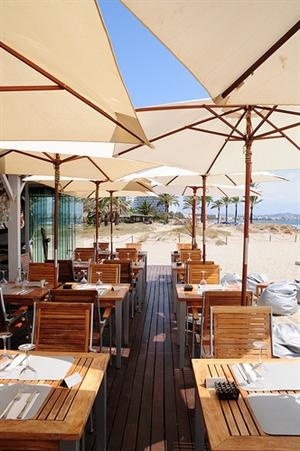 Nassau Beach Club, Playa D'en Bossa, Ibiza, Spain- a favorite!