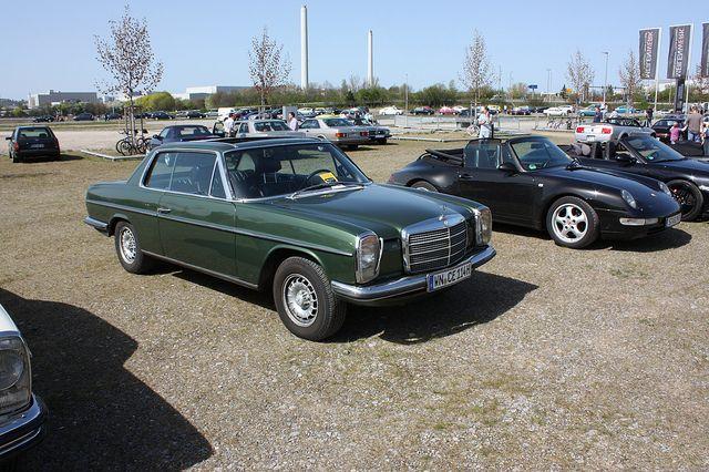Mercedes W114/8 Coupe - Meilenwerk Böblingen Stuttgart | Flickr ...