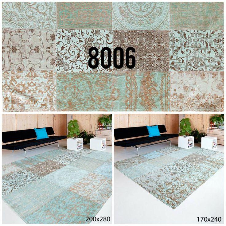Welke maat kiest u? #8006 #vintage #kleim #louisdepoortere #rugs #vloerkleed #hilversum http://www.vloerkledenwinkel.nl/category/Retro-vloerkleed/product/Vintage-Kelim-tapijt-Sea-Blue-8006