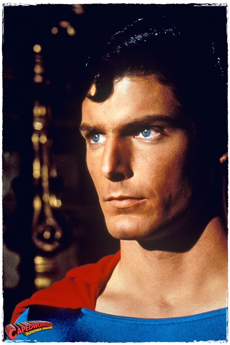 Christopher Reeve - the only Superman for me! :)