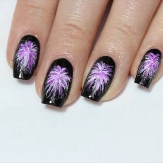 Best 25 firework nails ideas on pinterest new years nail as promised heres the tutorial for my easy fireworks nail art design full tutorial with voiceover is already up on my channel prinsesfo Gallery