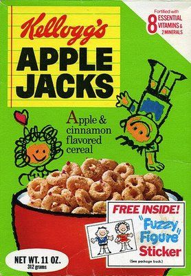 Apple Jacks Cereal