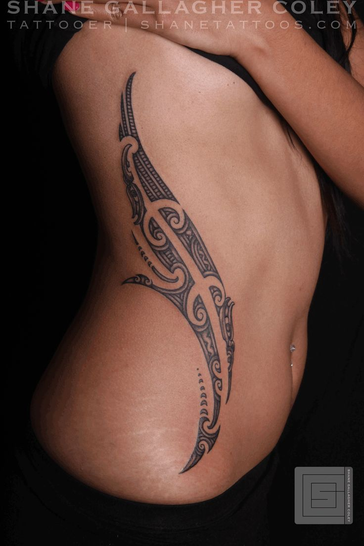 SHANE TATTOOS: Maori Female Side Tattoo, Ta Moko