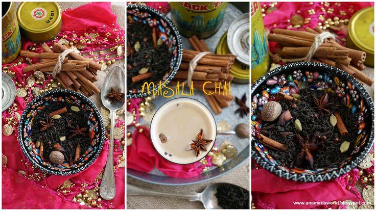 Masala chai - www.anamarisworld.blogspot.com