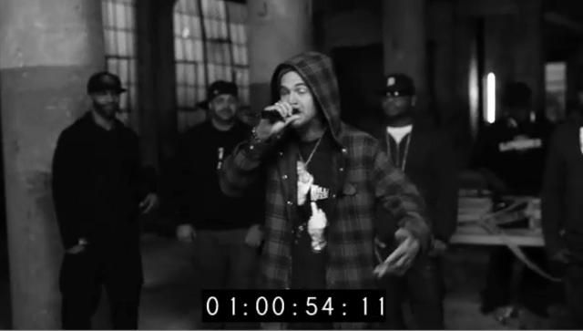 """Shady Records 2.0 Boys 2011 Cypher (Uncut) by Shady Records. This is the unedited explicit version of the Shady Records 2.0 Boys 2011 Cypher.  Yelawolf, Slaughterhouse and Eminem over """"Tried By 12"""" provided by DJ Premier.  Filmed on location in Detroit, MI, USA."""