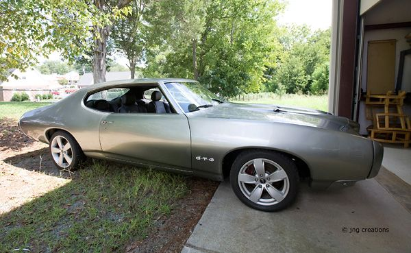 Project complete 69 Pontiac GTO. Interior is from a 2006 GTO.