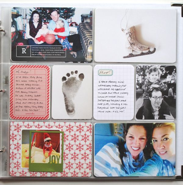 Pl. love baby's footprint + elf details + christmasy colors