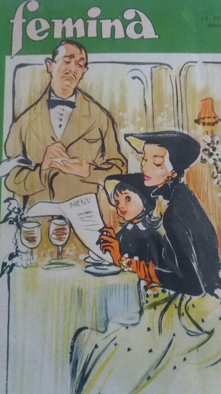 Forside til Femina 1953.09.22 Christel