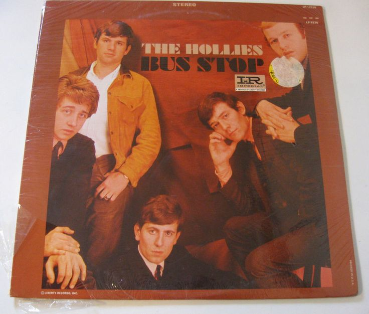 The Hollies Bus Stop Imperial LP-12330 Stereo SEALED Vinyl Record LP