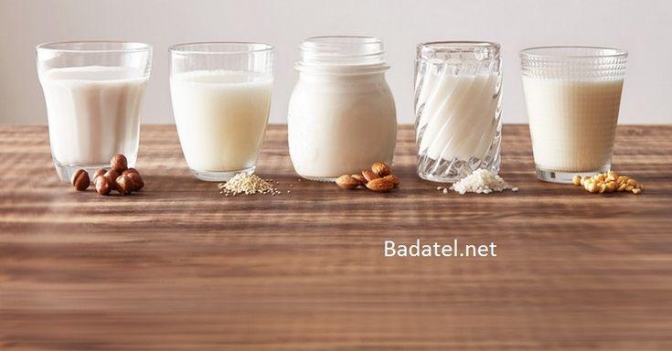 5 najzdravšie druhy rastlinného mlieka a ich hlavné prínosy
