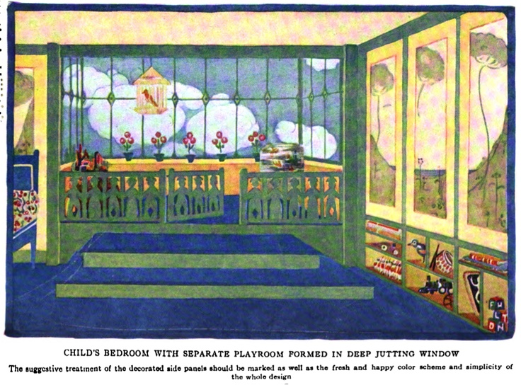 1901 house interiors