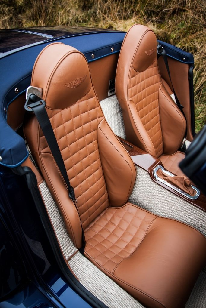 New Morgan Aero 8. Not an MG but I like the color of leather with the wool carpet.