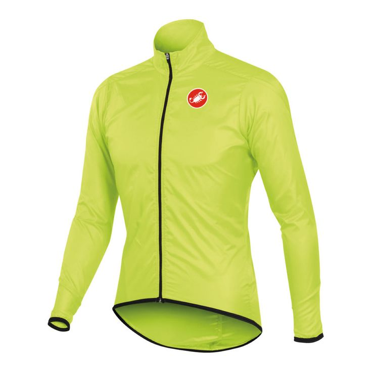 Wiggle | Castelli Squadra Long Water Resistant Jacket | Cycling Windproof…