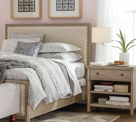 Toulouse Wood Bed | Pottery Barn