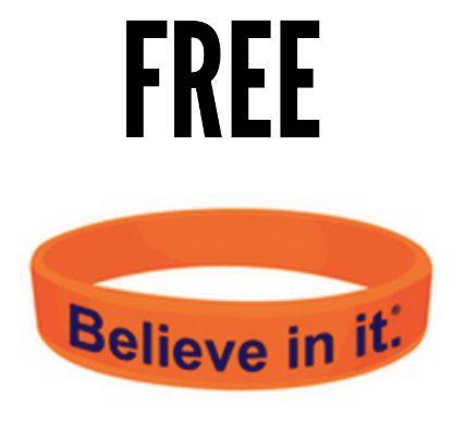 """FREE """"Believe in it"""" Bracelet"""