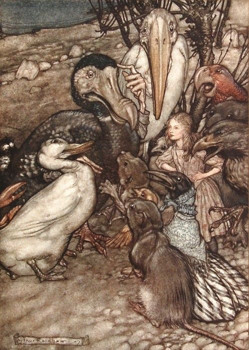 32 best images about Through The Eyes of Arthur Rackham on ...